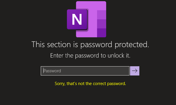 How to crack OneNote password